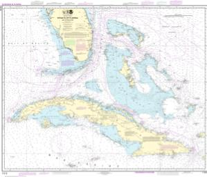 thumbnail for chart Straits of Florida and Approaches