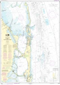 thumbnail for chart Intracoastal Waterway Sands Key to Blackwater Sound