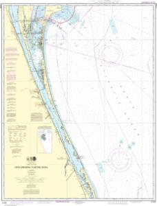 thumbnail for chart Cape Canaveral to Bethel Shoal
