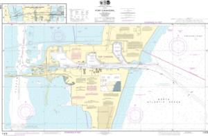 thumbnail for chart Port Canaveral;Canaveral Barge Canal Extension