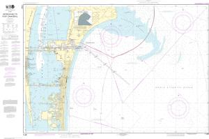 thumbnail for chart Approaches to Port Canaveral