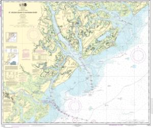 thumbnail for chart St. Helena Sound to Savannah River