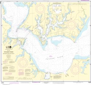 thumbnail for chart Patuxent River Solomons lsland and Vicinity