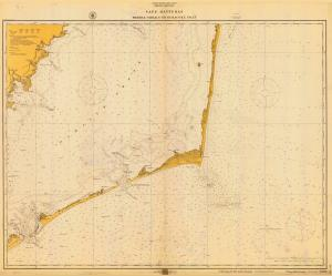 Nc 1916 Cape Hatteras Wimble Shoals To Ocrae Inlet