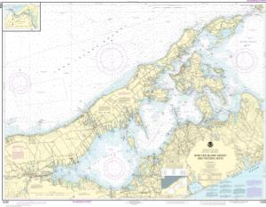 thumbnail for chart New York Long Island, Shelter Island Sound and Peconic Bays;Mattituck Inlet