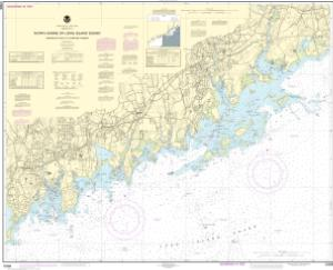 thumbnail for chart North Shore of Long Island Sound Sherwood Point to Stamford Harbor