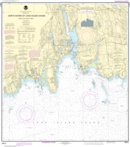 thumbnail for chart North Shore of Long Island Sound Niantic Bay and Vicinity