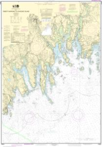 thumbnail for chart Tibbett Narrows to Schoodic Island