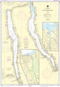 Nautical Charts Online Noaa Nautical Chart 14791 Cayuga