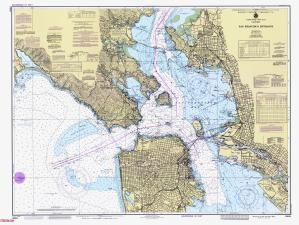 Nautical Charts Online Chart 18649101986 CA1986Entrance to