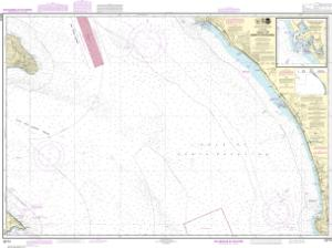thumbnail for chart Gulf of Santa Catalina;Delmar Boat Basin-Camp Pendleton