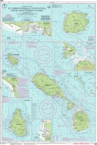 Nautical Charts Online Chart ImrayA St Christopher St - Sint eustatius map
