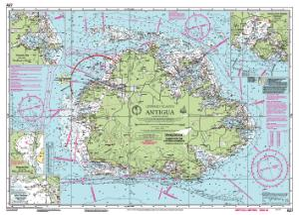 Nautical charts online chart imray a27 antigua