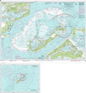 Nautical charts online chart imray e5 bermuda