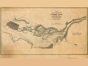 thumbnail for chart VA,1838,Potomac River