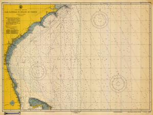 thumbnail for chart NC,1949,Cape Hatteras to Straits of Florida
