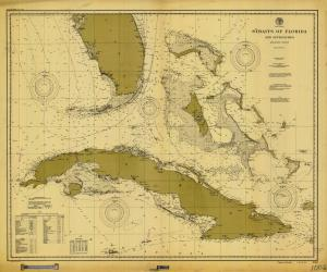 thumbnail for chart FL,1900,Straits Of Florida