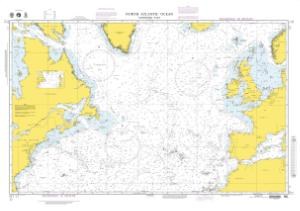 Nautical Charts Online - NGA Nautical Chart 11, North