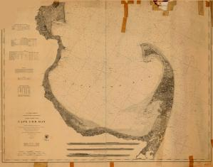 thumbnail for chart MA,1872, Cape Cod Bay