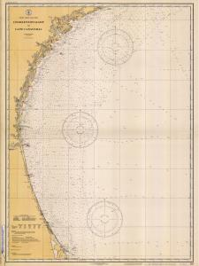 thumbnail for chart SC,1932,Charleston Light to Cape Canaveral