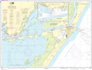 thumbnail for chart Corpus Christi Bay - Port Aransas to Port Ingleside