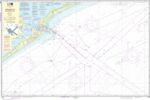 thumbnail for chart Approaches to Galveston Bay
