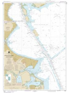thumbnail for chart TX,2017,Upper Galveston Bay-Houston Ship Channel-Dollar Pt. to Atkinson