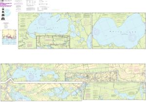 thumbnail for chart Intracoastal Waterway Forked Island to Ellender, including the Mermantau River, Grand Lake and White Lake