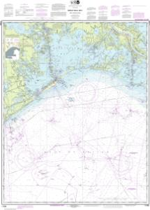 thumbnail for chart Barataria Bay and approaches