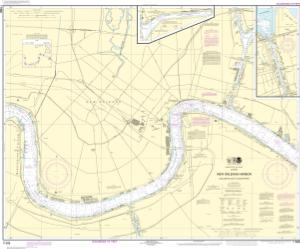 thumbnail for chart New Orleans Harbor Chalmette Slip to Southport