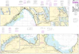 thumbnail for chart Okeechobee Waterway St. Lucie Inlet to Fort Myers; Lake Okeechobee