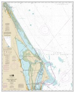 thumbnail for chart Ponce de Leon Inlet to Cape Canaveral