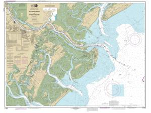 thumbnail for chart SC,2014,Savannah River And Wassaw Sound