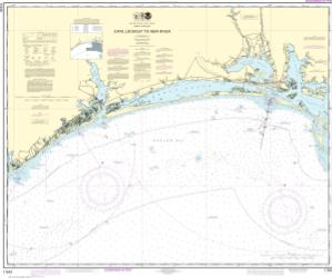 thumbnail for chart Cape Lookout to New River