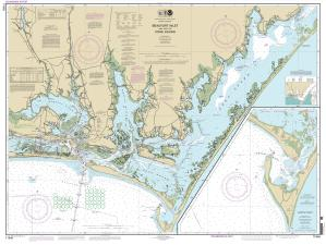 thumbnail for chart NC,2013,Beaufort Inlet and Part of Core Sound