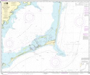 thumbnail for chart Cape Hatteras-Wimble Shoals to Ocracoke Inlet