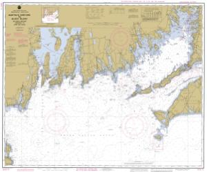 thumbnail for chart Marthas Vineyard To Block Island No Loran Training Chart