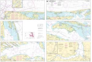 thumbnail for chart Cape Henry to Pamlico Sound, Including Albemarle Sd.; Rudee Heights