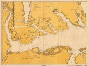 thumbnail for chart NC,1913,Albemarle Sound