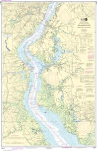 thumbnail for chart Delaware River Smyrna River to Wilmington