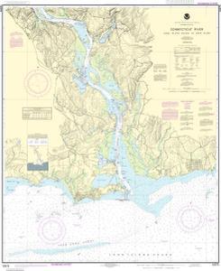 connecticut river depth map Nautical Charts Online Noaa Nautical Chart 12375 Connecticut connecticut river depth map