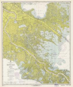 thumbnail for chart LA,1966,Mississippi River , Venice To New Orleans