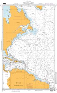 thumbnail for chart North Atlantic Ocean (Western Portion)