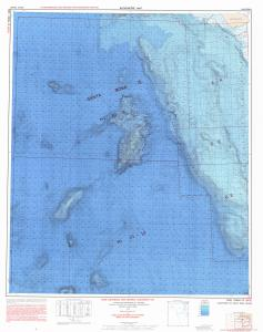 thumbnail for chart SANTA ROSA ISLANDS, S.W. of
