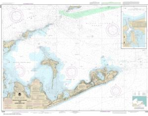 thumbnail for chart NY,2017,Block Is Sound & Gardiners Bay; Montauk Harbor