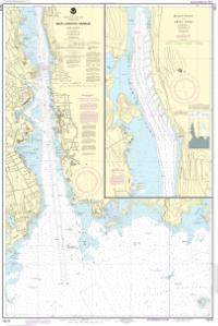 thumbnail for chart New London Harbor and vicinity;Bailey Point to Smith Cove