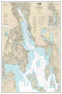 thumbnail for chart Providence River and Head of Narragansett Bay