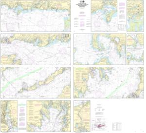 Nautical Charts Online - NOAA Nautical Chart 13229, South Coast of