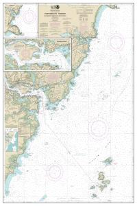 thumbnail for chart Portsmouth Harbor Cape Neddick Harbor to Isles of Shoals; Portsmouth Harbor