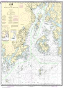 thumbnail for chart Penobscot Bay and Approaches